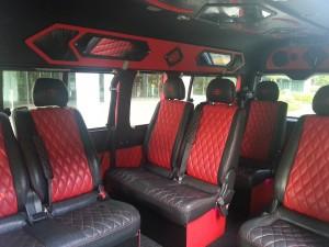 13 seater minivan