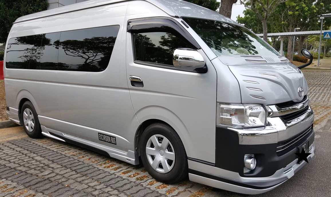 7/9/13 Seater Minibus Hire In Singapore