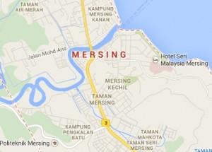Minibus to Mersing Malaysia
