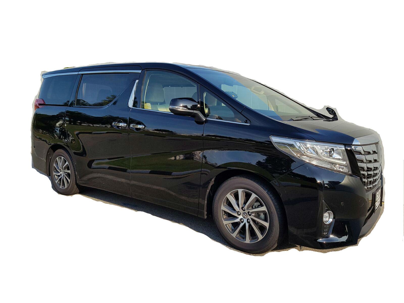 Toyota Alphard Vellfire Limousine Cab Rental Singapore