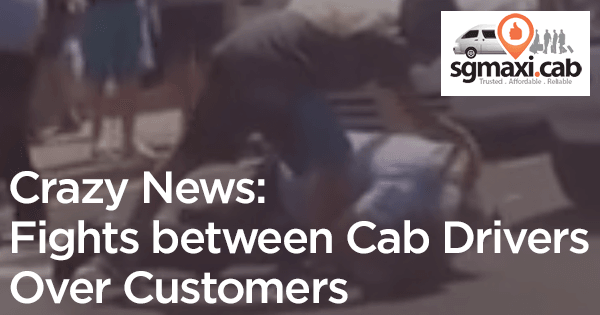 Crazy News: Fights between Cab Drivers over Customers